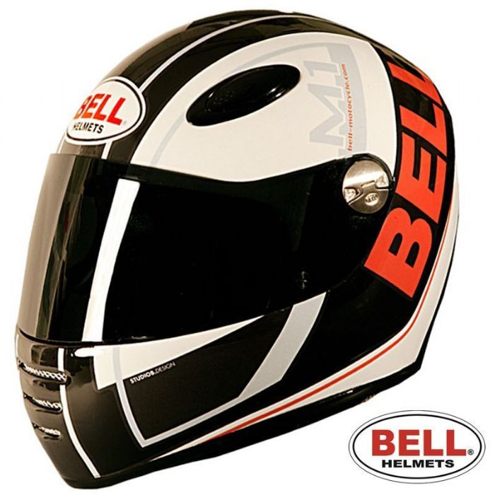 Bell M1 Tracker TK3 Black White Orange